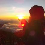 sunrise Sikunir via @nawangsaraswati