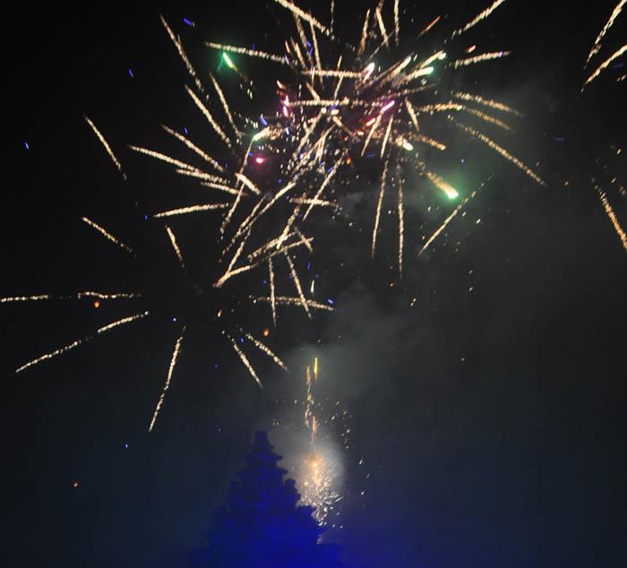 Pesta Kembang Api Dieng Culture Festival 2015