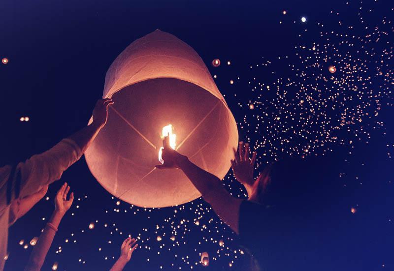 Festival Lampion Dieng